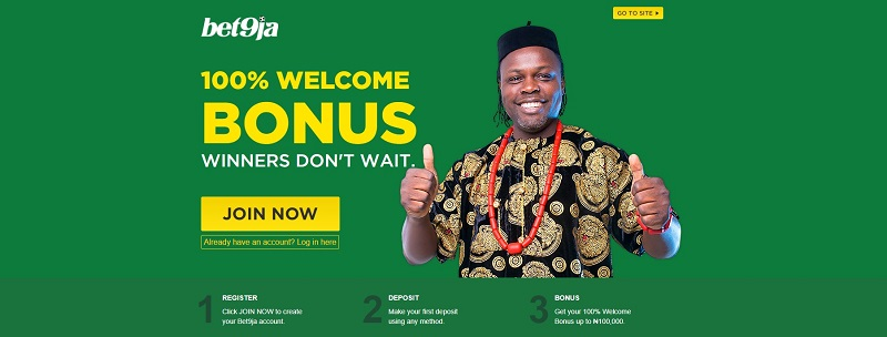 bet9ja App Welcome Bonus